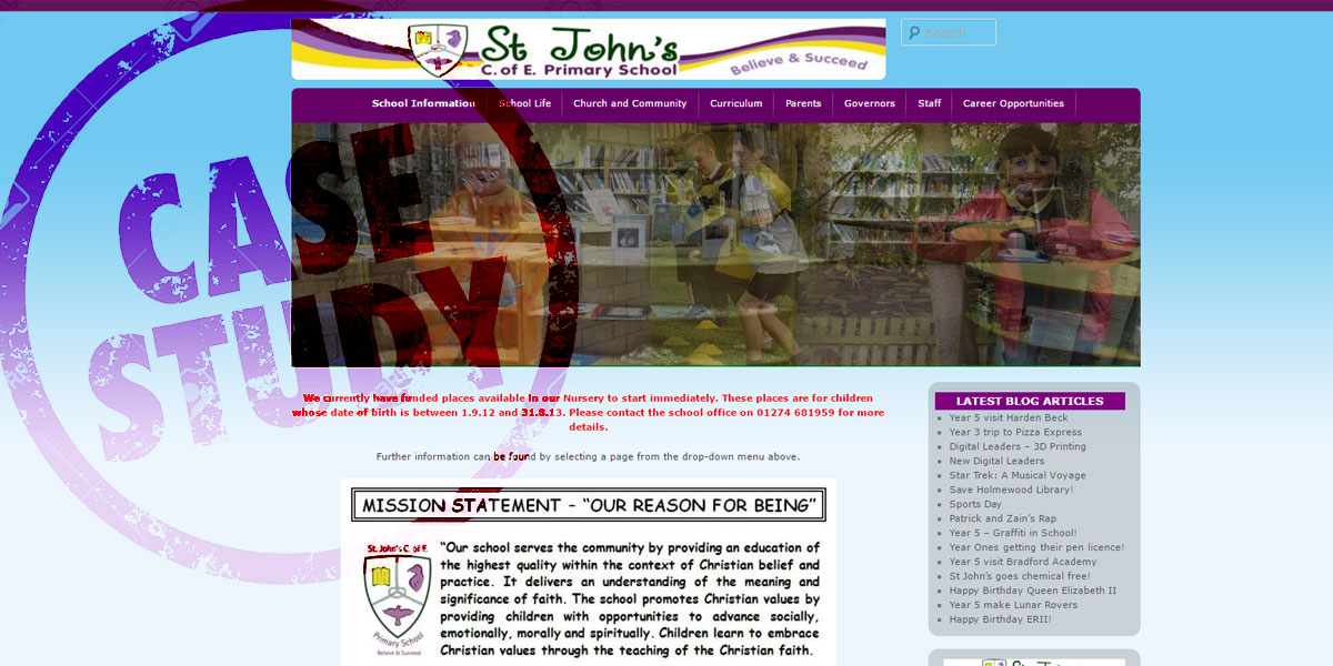 St John's CE Primary School