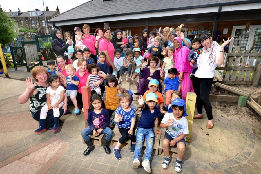 Celebrations at Canterbury Nursery and Burnett Fields